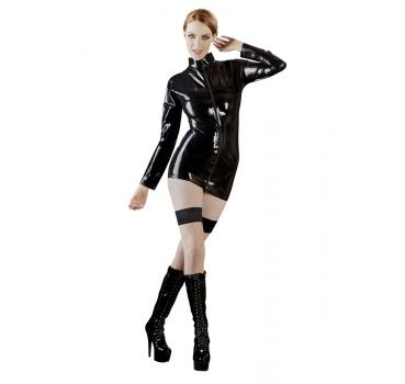 Latex Shirt Schwarz